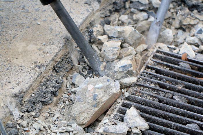 Driveway repairs in Hastings